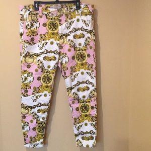 ASOS Chain Print Jeans